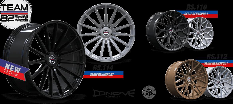 TEAM82 Racing Wheels RS.114 Motorsport Approach