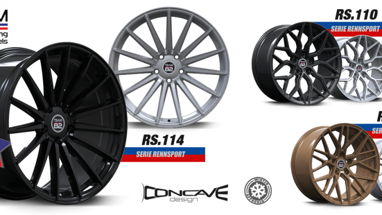 TEAM82 Racing Wheels RS.114 Motorsport Approach