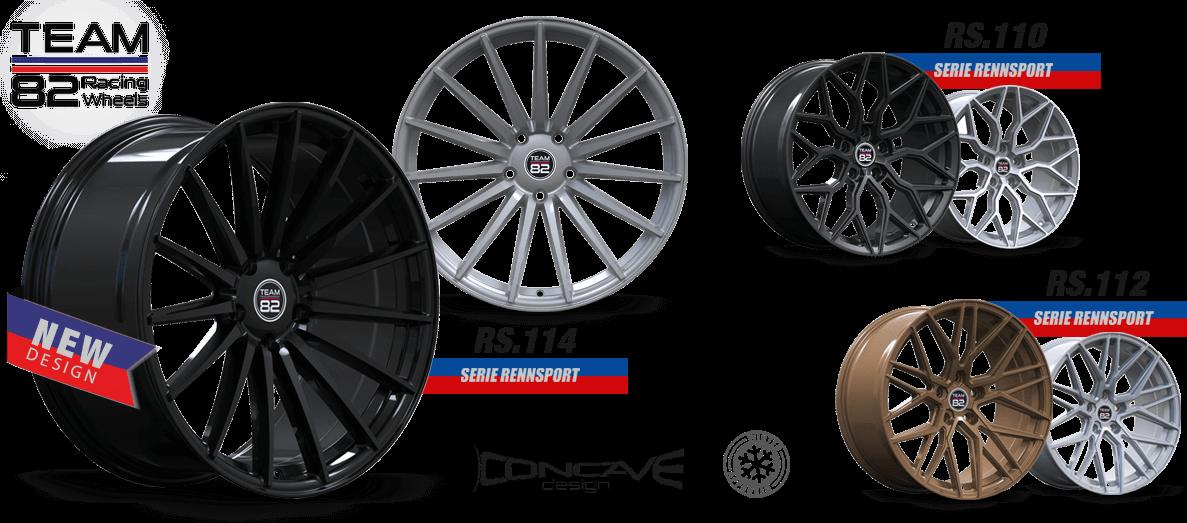 Aerotechnik Fahrzeugteile | Produktbild | TEAM82 Racing Wheels