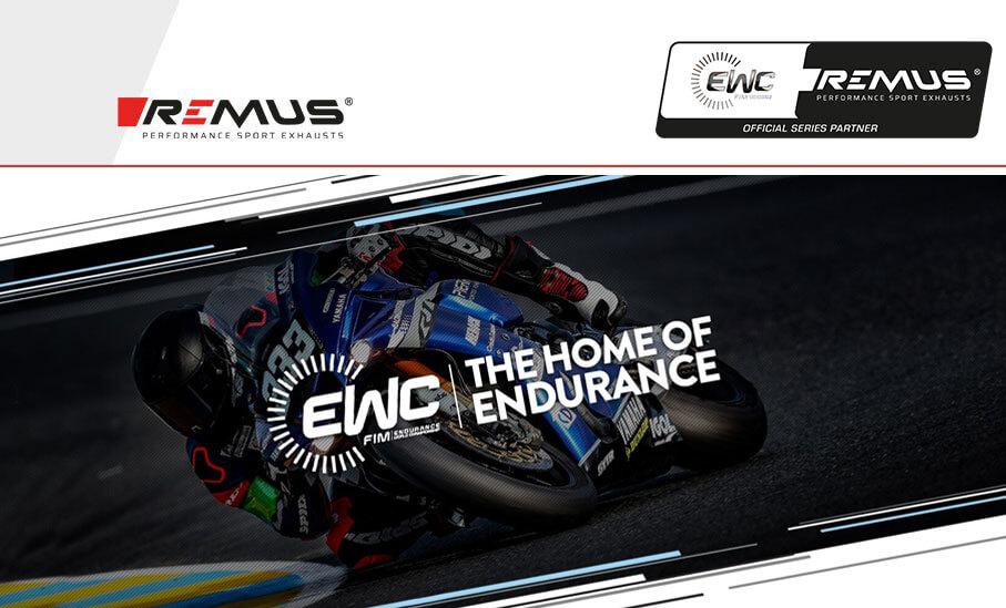 REMUS Hauptsponsor der FIM Endurance World Championship