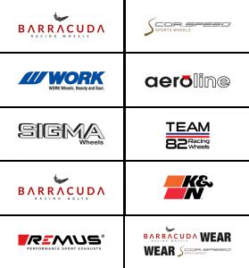 Aerotechnik Fahrzeugteile AG | Shop | Marken-Logos