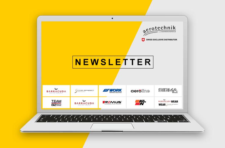 Aerotechnik Fahrzeugteile AG | Newsletter | Newsletteranmeldung