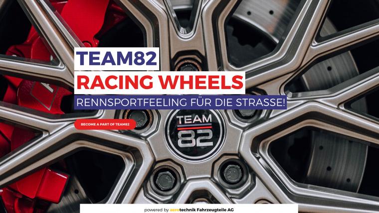 Neue Webseite TEAM82 Racing Wheels